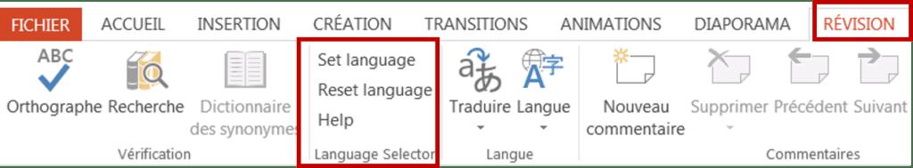 Complément Language Selector-PPTools.com