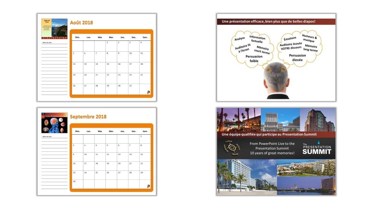Microsoft Powerpoint Calendar Template 2018 Calendar Mon Sun Office