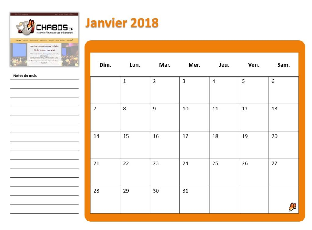 A Powerpoint Calendar Template With Auto Update Of Dates Chabos